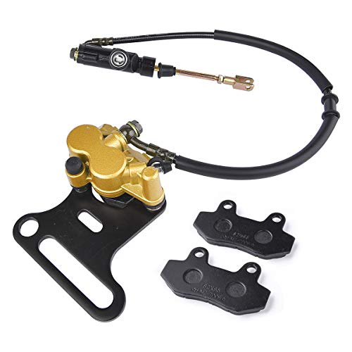 Chinese Dirt Pit Bike Rear Brake Master Cylinder & Caliper Baja SSR 70cc - 200cc Fit 15mm Wheel Shaft