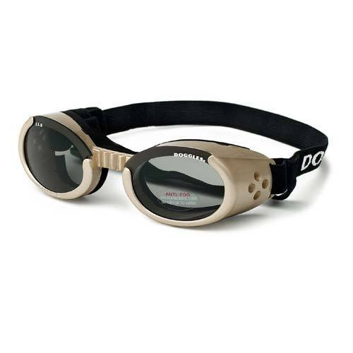 Ils Dog Sunglasses Chrome/Medium by Doggles