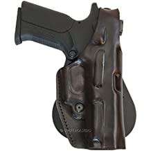 Walther PPX Leather Paddle Holster w Thumb Break