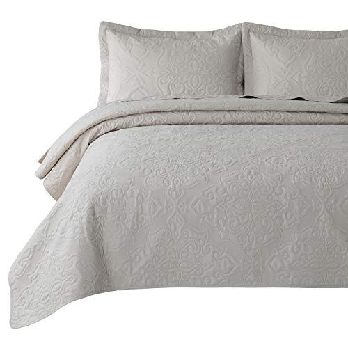 (Bedsure 3 Piece Reversible Quilt Set King Size (106