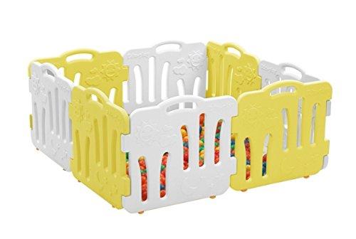 早い者勝ち グッドベビールーム B06XZ14CFV、セルフプレイ家、赤ちゃんフェンス、安全ガード、ベビー接続して拡張も可能 yellow&white、8P(並行輸入品) (yellow&white) (yellow&white) yellow&white B06XZ14CFV, 家具インテリア雑貨のアラモード:cb895ce7 --- a0267596.xsph.ru