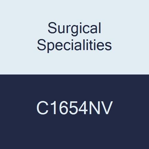 Surgical Specialities C1654NV Chromic Gut Animal Health Suture, Reverse Cutting, 4-0 Size, 45 cm Barb, 13 mm Needle, 3/8 Circle (Pack of 12)