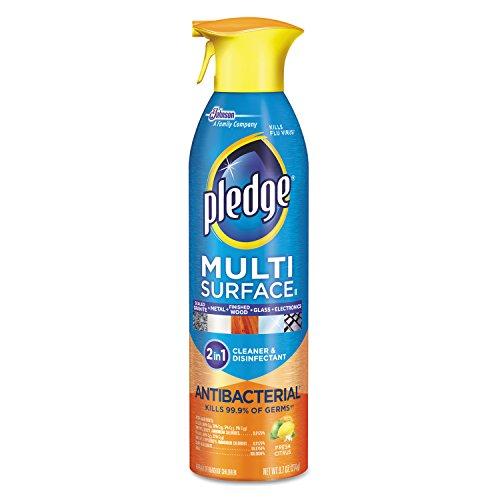 Pledge 652989 Multi-Surface II Everyday Cleaner, 9.7oz Aerosol (Case of 6) by Pledge