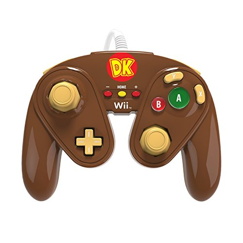Best Wireless Gamecube Controller (PDP Wired Fight Pad for Wii U - Donkey Kong)