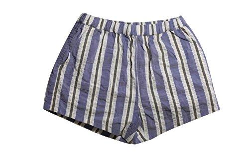La Perla Men's Blue Striped Swim Shorts hot sale