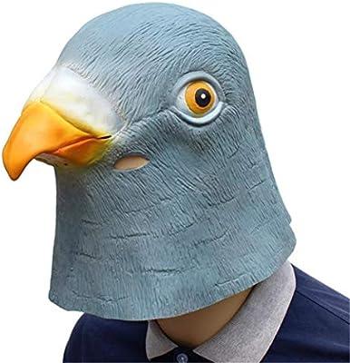 DDPP Máscara Animal máscara de Paloma Cabeza máscara de Disfraces ...