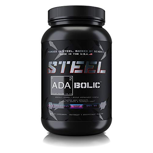 Steel Supplements ADA2Bolic Workout Recovery Aid Powder Restores Muscle Glycogen 3.75lbs (Cotton Candy)
