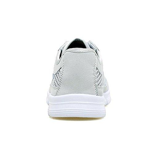 Shufang de para Zapatillas Papel shoes Hombre Gris Claro rqWETran