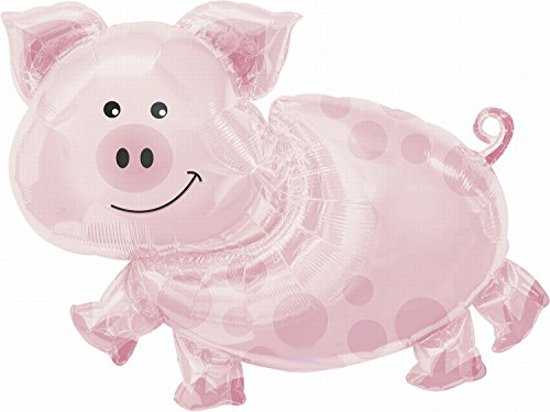 Anagram International Pig Shape Pack, (Balloon Bargain)