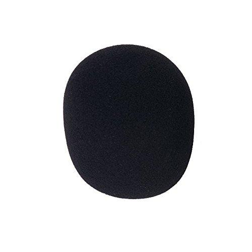 SPHTOEO 10PCS Black Handheld Stage Microphone Windscreen Sponge Cover Karaoke DJ