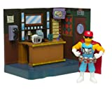 The Simpsons Exclusive Playset Moe's Bar with Duffman