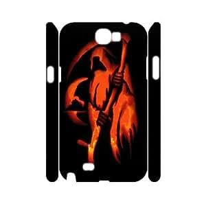 C-Y-F-CASE DIY Design Grim Reaper Pattern Phone Case For Samsung Galaxy Note 2 N7100