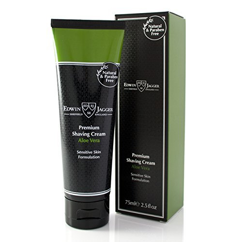 - Edwin Jagger Aloe Vera Natural Premium Shaving Cream in Travel Tube