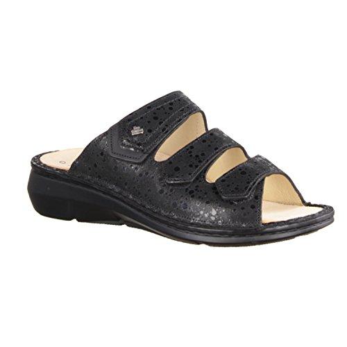 Sandals Finn Thong black Women's black Comfort qgqrUfp1B