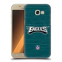 Official NFL Distressed Philadelphia Eagles Logo Hard Back Case for Samsung Galaxy S6 edge+ / Plus