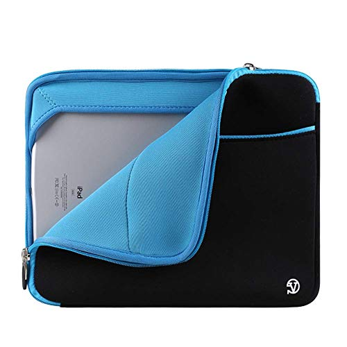 (Smile Padded Neoprene Zipper Carrying Sleeve Case Bag for Acer Iconia One 7 /Iconia One 8 /Switch 3 (Blue))