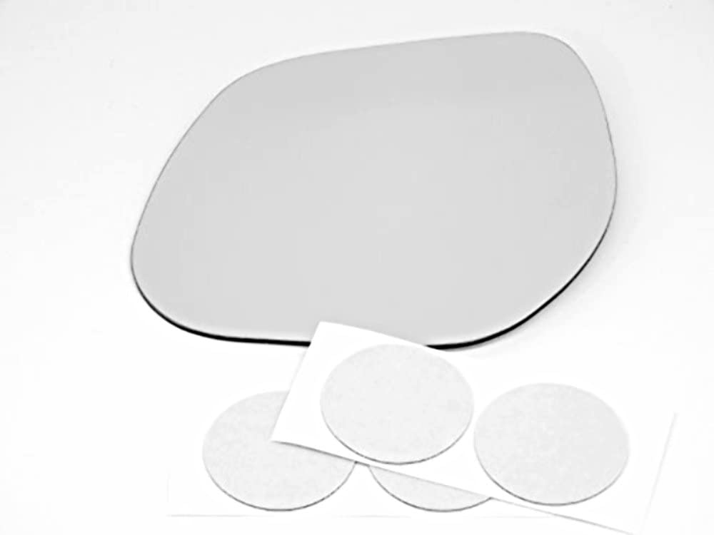 Fits 07-10 Outlander 11-15 Sport Right Pass Mirror Glass Lens w//Silicone