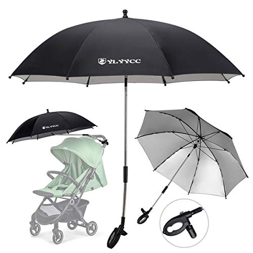 YLYYCC Baby Stroller Sun Shade/Stroller Umbrella/Uv Protection Umbrella 360 Degrees