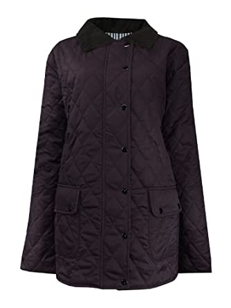 ladies black quilted jacketbarbour wool coat