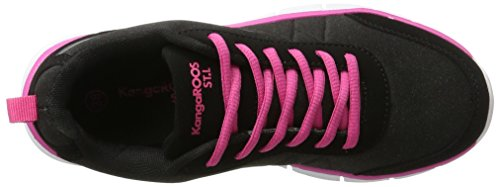 Run Pink Ref Blossom Schwarz Jet Kr Kangaroos Mujer Baja Zapatilla Black PvR71gnx