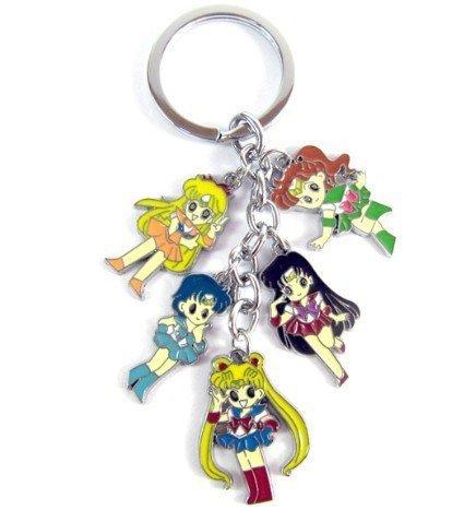 Sailor Moon Tsukino Usagi Venus Mercury Jupiter mars Key chain ()