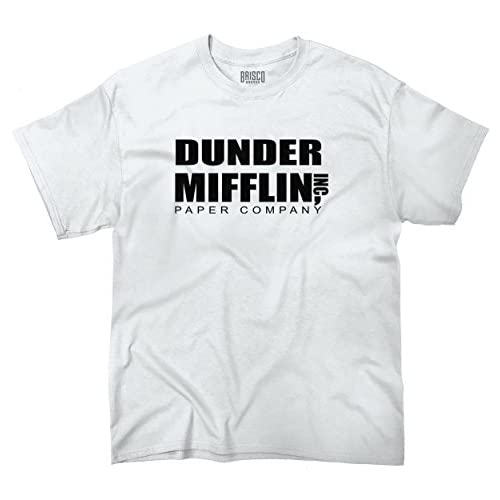 6693d7e8 Dunder Mifflin Paper Company The Office TV Show Funny Humor T-Shirt Tee  lovely