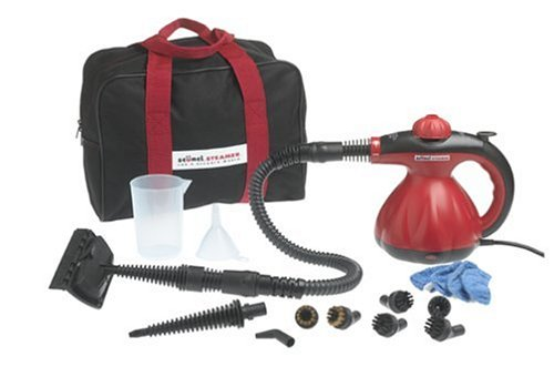Scunci SS1000 Hand Held Steam Cleaner with Attachments by Scunci