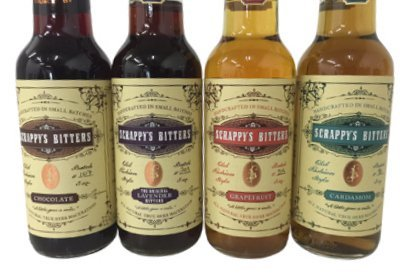 Scrappys Cocktail Bitters Collection Bottles