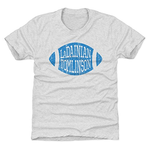 500 LEVEL LaDainian Tomlinson San Diego Chargers Youth Shirt (Kids X-Large (14-16Y), Tri Ash) - LaDainian Tomlinson Football L ()