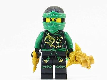 LEGO LLOYD GARMADON SKYBOUND SWORD minifigure NINJAGO set 70601 green ninja