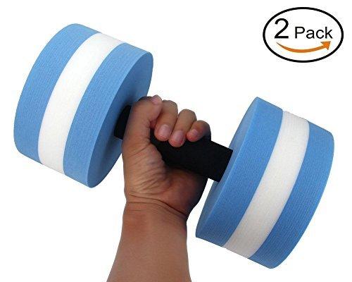 Qzc QzcAquatic Exercise Dumbells – Set of 2PCS – Foam Dumbbells Water Aerobics Fitness – DiZiSports Store