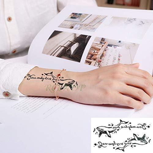 5pcs Impermeable Tatuaje del corazón Pegatinas Carta de Amor ...