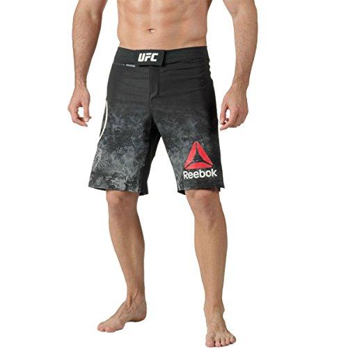 (Reebok UFC Fight Night Octagon Short, Black, 36