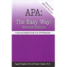 APA:  The Easy Way! (Updated for APA 6th edition)