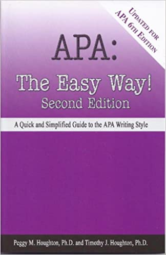 amazon com apa the easy way updated for apa 6th edition ebook