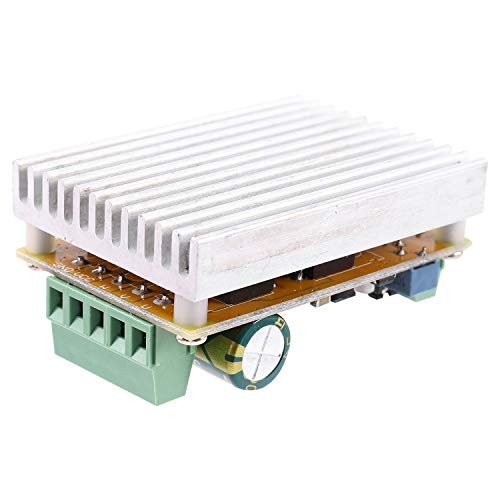 UANG 380W 3 Phases Brushless Motor Controller Board(No/Without Hall Sensor) BLDC PWM PLC Driver Board 6.5-50V