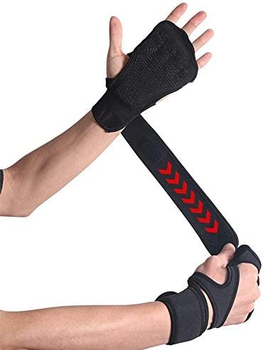Mini gloves ネオプレン手袋のフィットネスに設計ノンスリップシリコンブレスレットパーム茶色、黒、L (Color : Black, Size : L)