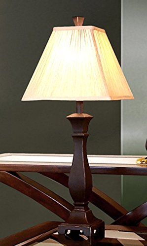 - Monarch Specialties Transitional Table Lamp 5 Piece Decor Set