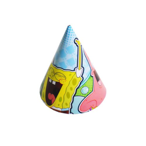 Spongebob Squarepants Party Hats - 8 Pack for $<!--$2.99-->