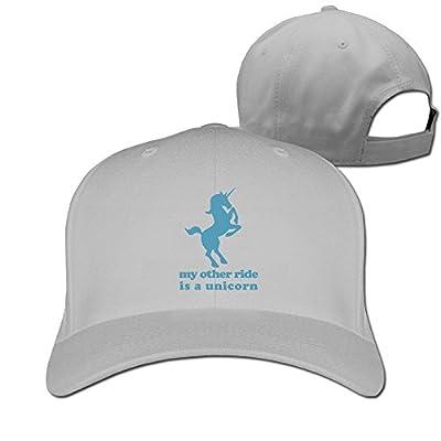 My Other Ride is A Unicorn Designer Trucker Cap Peaked Hat Unisex Baseball Hats