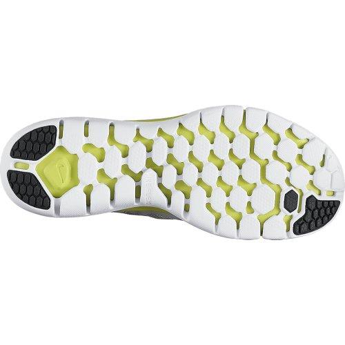 Nike Flex 2014 RN Scarpe da Corsa Gris / Azul Oscuro / Verde Claro / Blanco