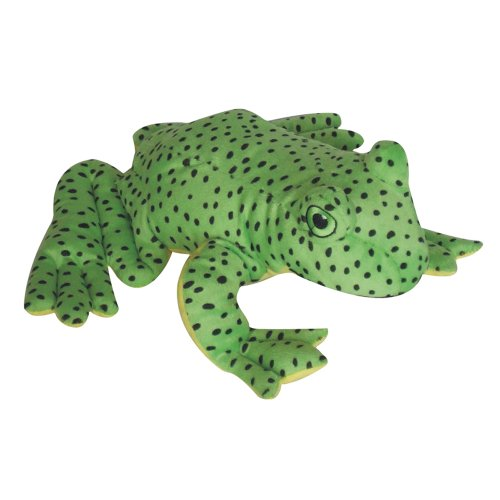 (Pet Lou 00834 Colossal Dog Chew Toy, 15-Inch Spotted Frog)