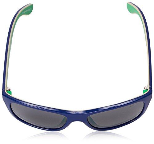 Protection Revo Otis Blue graphite ivory Polarized Unisex Uv Sunglasses Square green 1001 Re rFrwg0