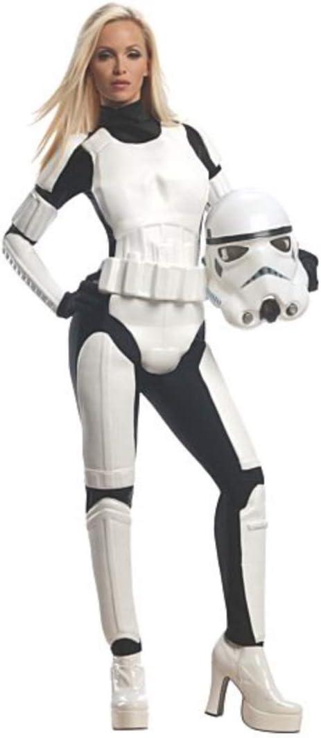White//Black Rubies Costume Star Wars Female Stormtrooper Medium