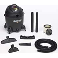 Shop-Vac 5862000 20-Gallon 6.5-Peak HP Quiet Deluxe Series Wet/Dry Vacuum