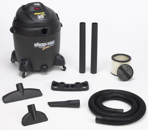 18' Floor Brush (Shop-Vac 5862000 20-Gallon 6.5-Peak HP Quiet Deluxe Series Wet/Dry Vacuum)