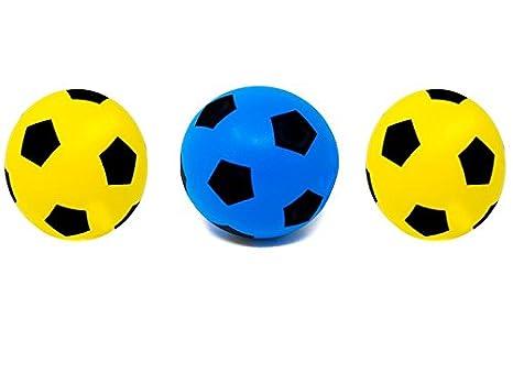 E-Deals 17,5 cm de fútbol de Espuma Suave - Paquete de Dos ...