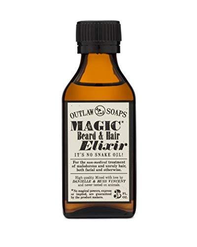 Magic Beard and Hair Elixir - Smoky, Woody Cedar Beard Oil - A Fantastic Beard Oil for all Your Beard Care (and Other Frizzy, Problematic Hair) Needs - 3 oz Bottle
