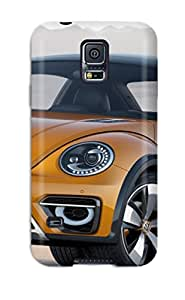 Galaxy S5 Well Designed Hard Case Cover Volkswagen Beetle 25 Protector