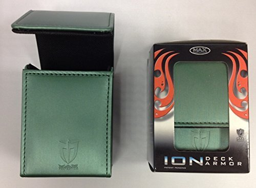 Max Protection Deck Box - Max Protection ION DECK BOX - METALLIC - GREEN